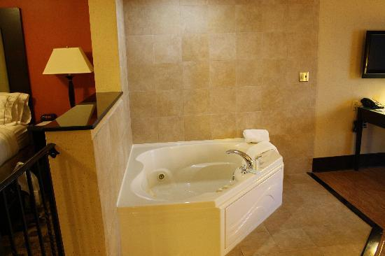Holiday Inn Express Hotel & Suites Columbia-Fort Jackson: tub