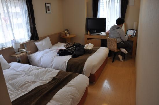 Arietta Hotel Osaka: spacious beds