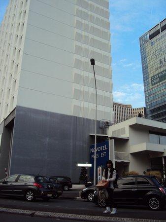 Novotel Est Bagnolet Paris: vista externa del el edificio