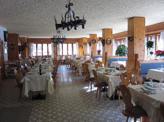 Park Hotel Valfurva : Restaurant