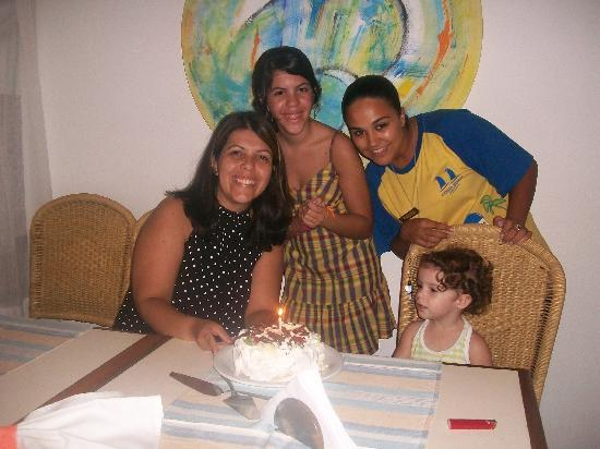 Costa Norte Ingleses Hotel: Meu aniversário
