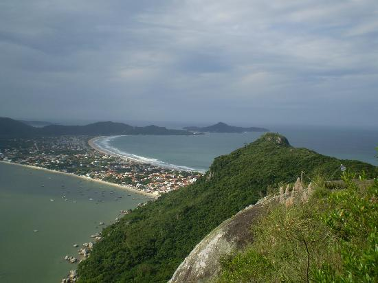 Bombinhas, SC: Mirador 360 grados, desde Morro do Macaco