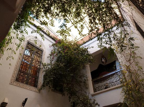Riad Dar Eliane: View from the courtyard