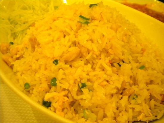 Salted fish fried rice picture of jumbo seafood for Fish fried rice