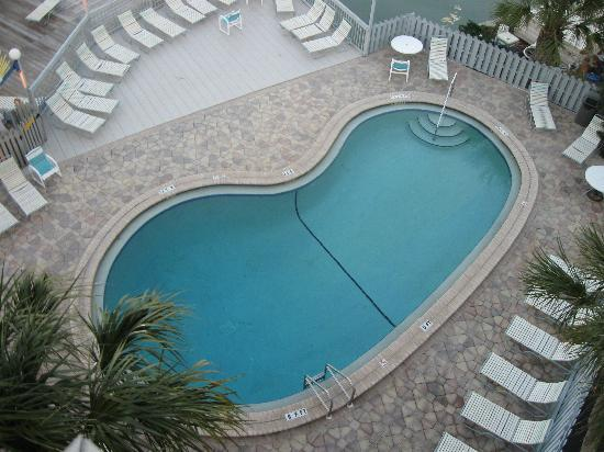 Clearwater Beach Hotel: pool area