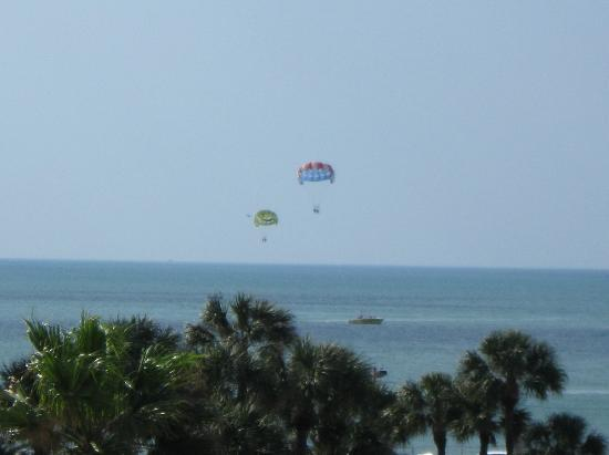 Clearwater Beach Hotel: parasailing