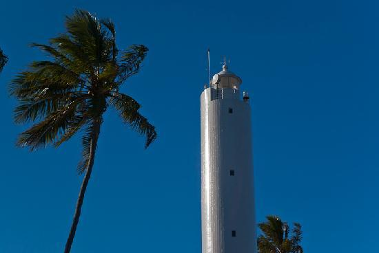 Lighthouse of the fishing village of Praia do Forte