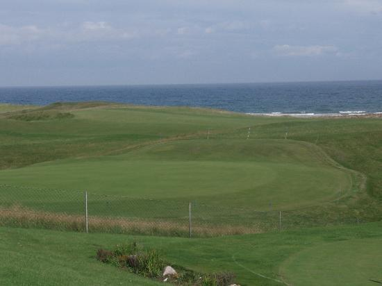 Brora Golf Course: 18th--a par 3