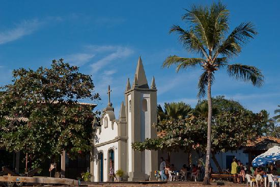 Praia do Forte: Church at the beach