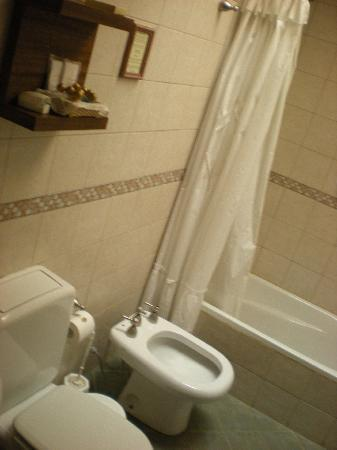 Hosteria El Puma : Baño