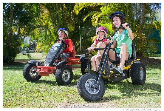 NRMA Treasure Island Holiday Park: Go-karts
