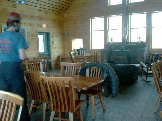 Maine Huts & Trails: Dining Room - Flagstaff Lodge
