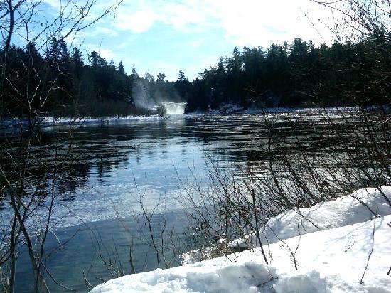 Maine Huts & Trails: Grand Falls on Dead River