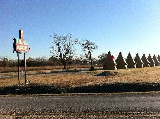 Wharton, TX: view from the road
