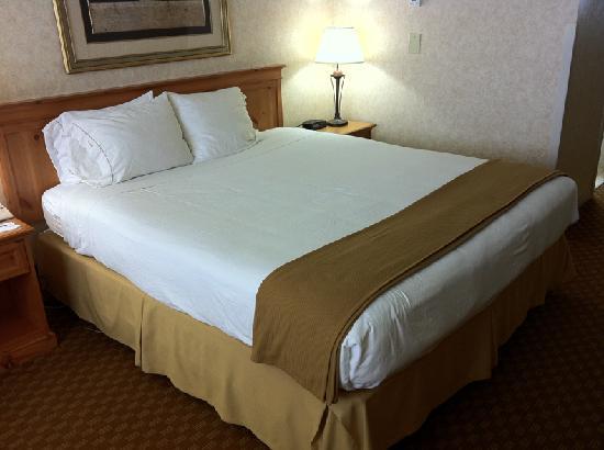 هوليداي إن اكسبرس سان فرانسيسكو إيربورت: Comfortable bed, nice linens