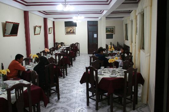Hostal Bicentenario: restaurant