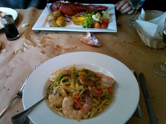 Montauk Seafood Grill: Trout and Fantastic Scallops