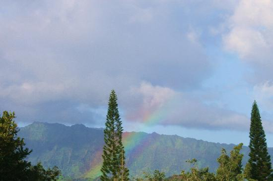 Makai Club: Our lanai view - many rainbows!