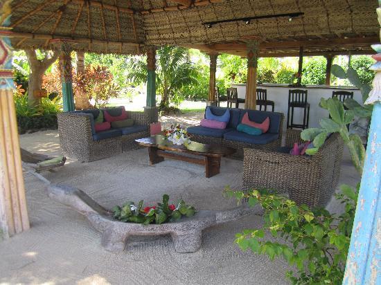 Navutu Stars Fiji Hotel & Resort: The bar area
