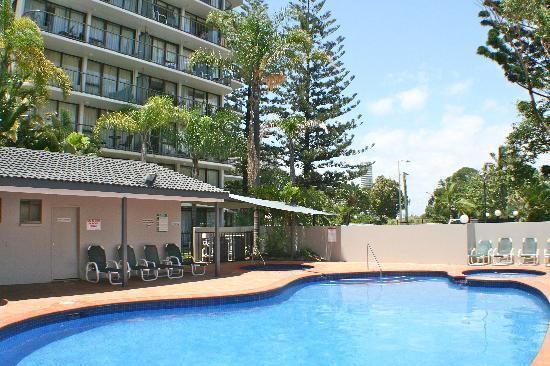 Anacapri Holiday Resort Apartments: Great Pool