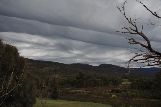 Boroka Downs: Angry sky