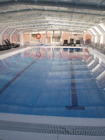 Indoor Swimming Pool Picture Of Madrid Marriott