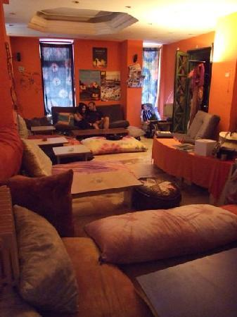 Chillout Galata : This is the lobby/chillout Room