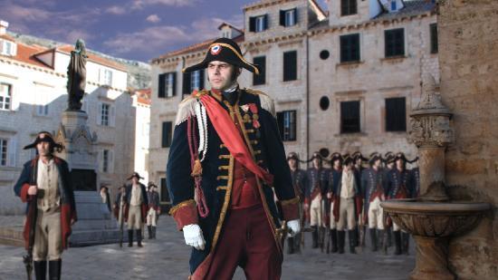 Visia Dubrovnik Multimedia Museum: General Auguste Marmont commanding troops in Dubrovnik