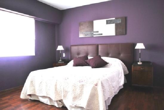 Mystic House Hostel Boutique: suite violeta con baño priv