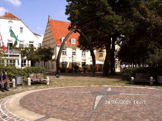 Bremen-Vegesack Gaststätte da neben Waahloberkieferknochen