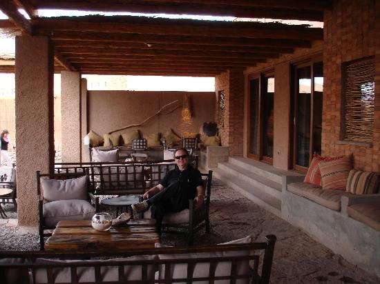 Alto Atacama Desert Lodge & Spa: varanda