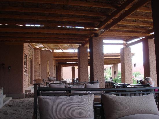 Alto Atacama Desert Lodge & Spa: drink na varanda, sempre