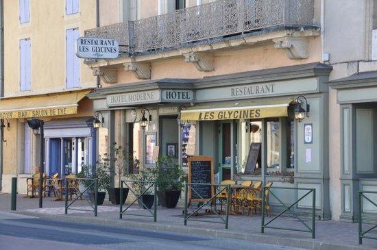 Hotel Moderne : facade