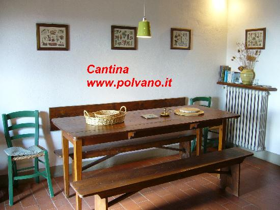 Villa Polvano: www.polvano.it Appartment Cantina