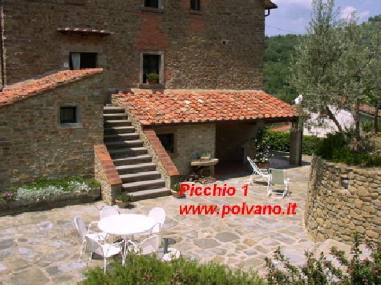 Villa Polvano: www.polvano.it Appartment Picchio 1