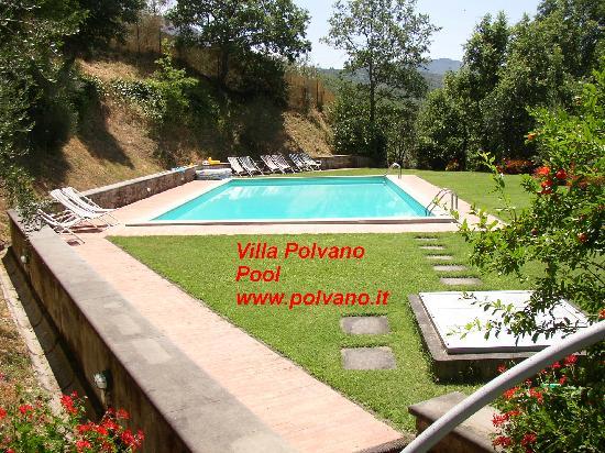 Villa Polvano Pool www.polvano.it