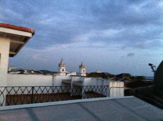 Casa Antigua: the other view from the balcony