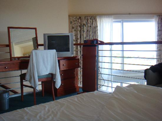 Protea Hotel Port Elizabeth Marine: Bedroom Upstairs