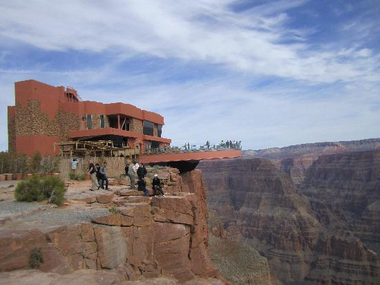 Skywalk In Winter Izobrazhenie Grand Canyon Skywalk