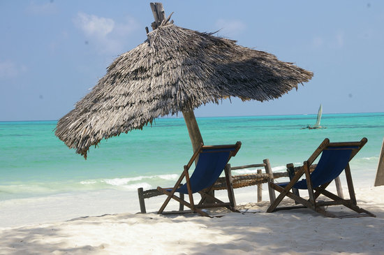 Ndame Beach Lodge Zanzibar: Snow white beaches and crystal clear water