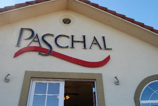 Paschal Winery: welcome