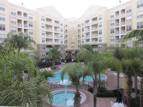 Vacation Village at Parkway: view from our 1 bd