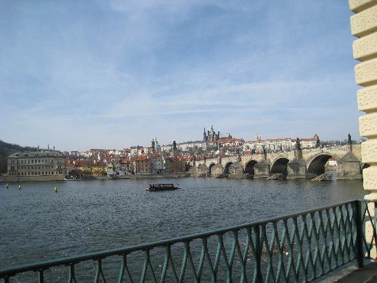 Alchymist Grand Hotel & Spa : River Vltava & the Charles Bridge