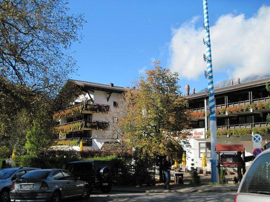 Restaurant Riessersee Hotel Sport & SPA Resort: Außenansicht