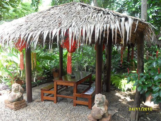 Suan Nanachaat - Massage and Lifestyle : Enchanting sitting area