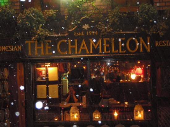 Chameleon Restaurant A Meal To Remember