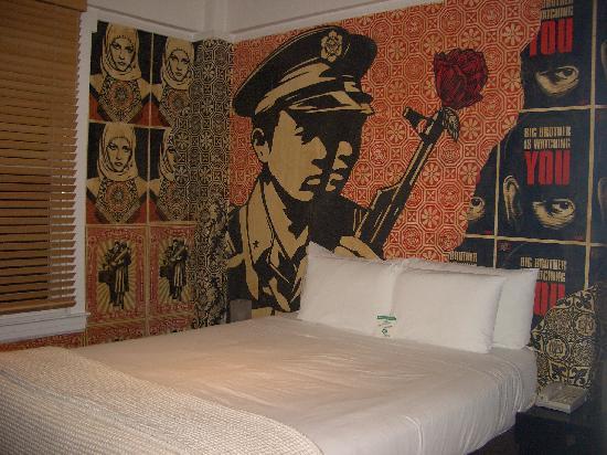 Hotel des Arts: camera