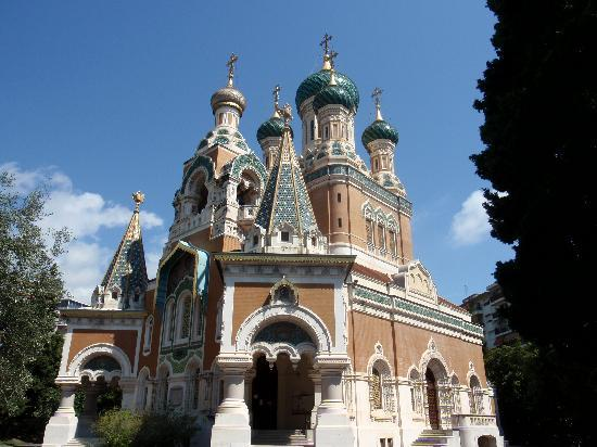 Nice, France: chiesa st.nicholas