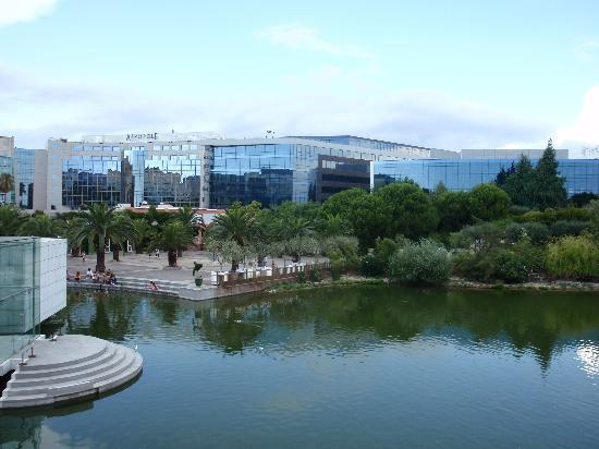 Nice, France: parc pheonix