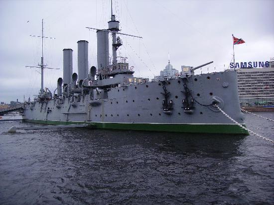 St. Petersburg, Russia: The Battle Cruiser Aurora